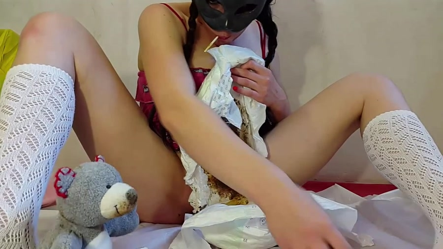 My First Diaper and ABDL Video and Anna Coprofield 2018 [FullHD Quality MPEG-4 Video 1920x1080 29.970 FPS 10.2 Mb/s] [1.25 GB]