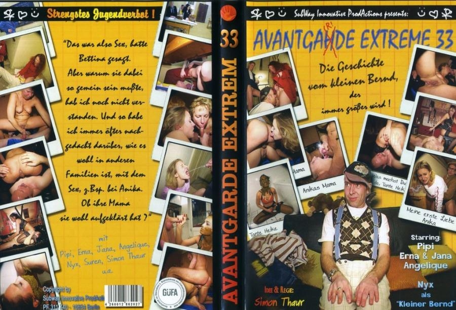 Avantgarde Extreme 33 and Pipi, Jana, Erna, Angelique 2018 [DVDRip AVI Video XviD 576x432 25.000 FPS 768 kb/s] [700 MB]