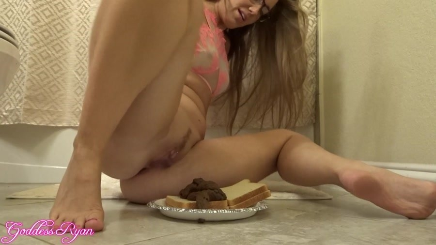 Eat My Spit & Shit Sandwich and GoddessRyan 2018 [FullHD Quality MPEG-4 Video 1920x1080 60.000 FPS 10.2 Mb/s] [790 MB]