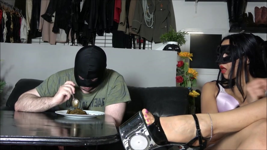 Eating a mountain of shit and Mistress Gaia 2019 [FullHD 1920x1080] [587 MB]